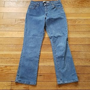 Levis 550 Relaxed Boot Cut High Waist Mom Jeans